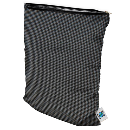 planet wise wet bag - Gray Houndstooth