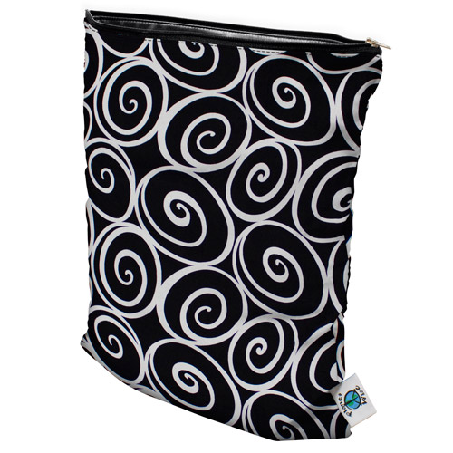planet wise wet bag - Midnight Curl