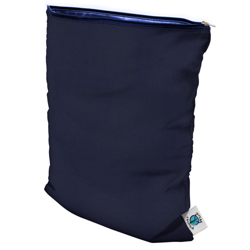 planet wise wet bag -  Navy