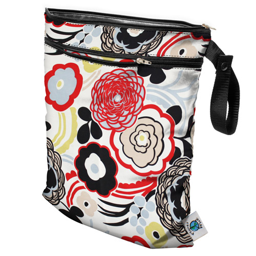 planet wise wet/dry bag - art deco