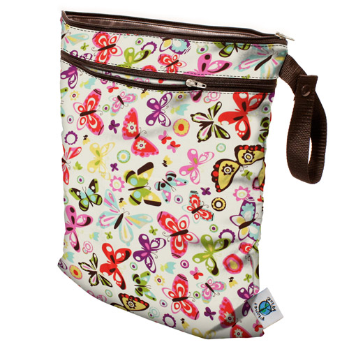 planet wise wet/dry bag - Butterflies