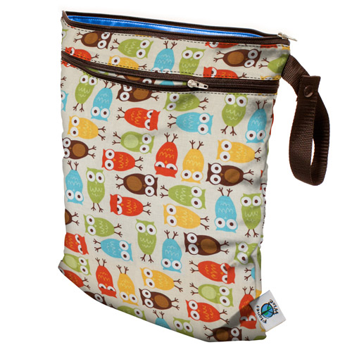 planet wise wet/dry bag - Owl