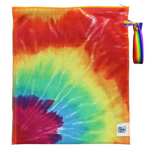 planet wise LITE wet bag - Totally Tie Dye