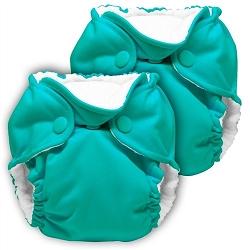 kanga care lil joey newborn diaper - Peacock