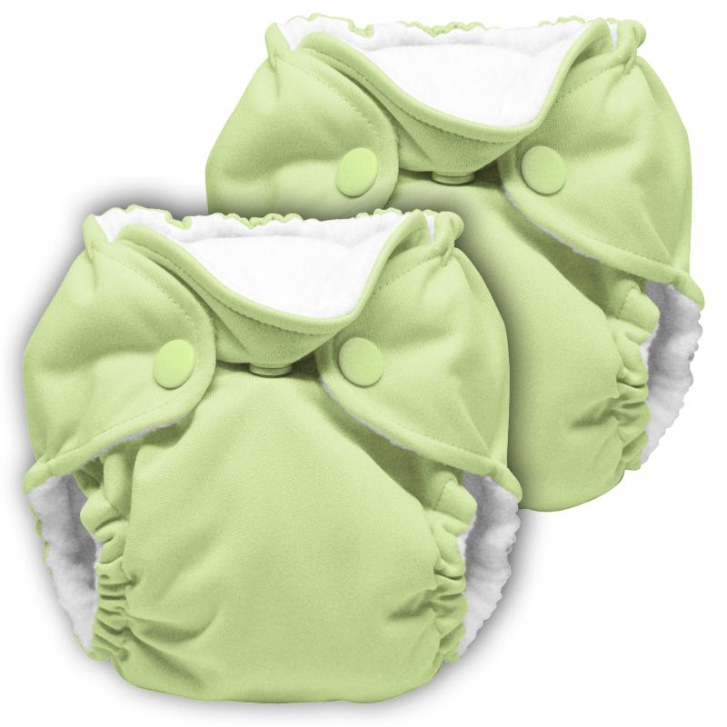 kanga care lil joey newborn diaper - Lazy Lime