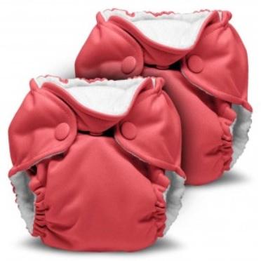 kanga care lil joey newborn diaper - spice