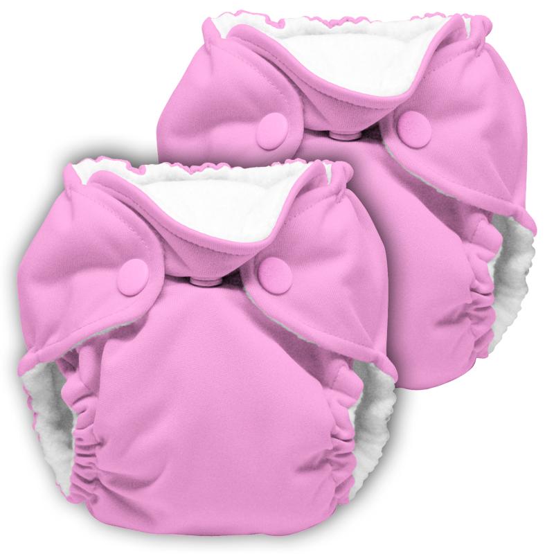 kanga care lil joey newborn diaper - tulip