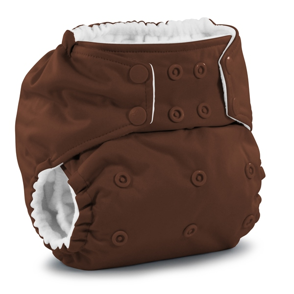 rumparooz cloth diaper - root beer