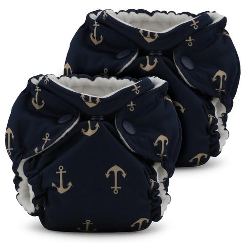 rumparooz lil joey newborn diaper - jujube admiral