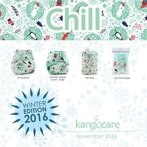 kangacare rumparooz diapers - chill winter edition