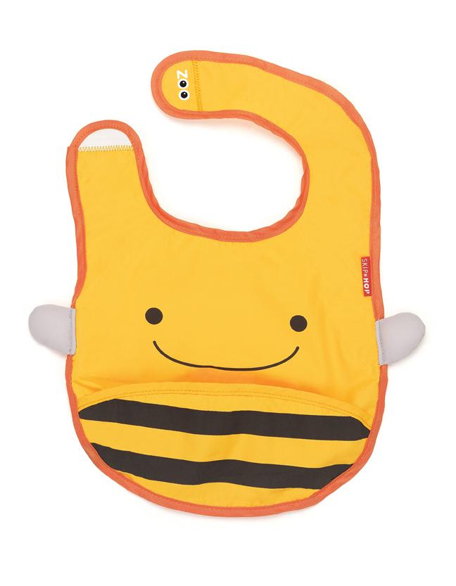 Skip Hop zoo tuck away bib - Bee