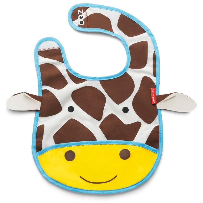 Skip Hop zoo tuck away bib - Giraffe