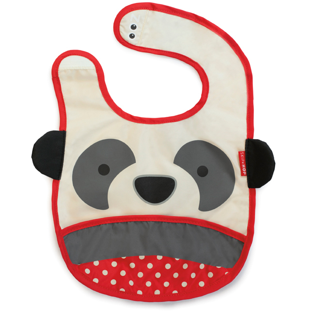 Skip Hop zoo tuck away bib - panda