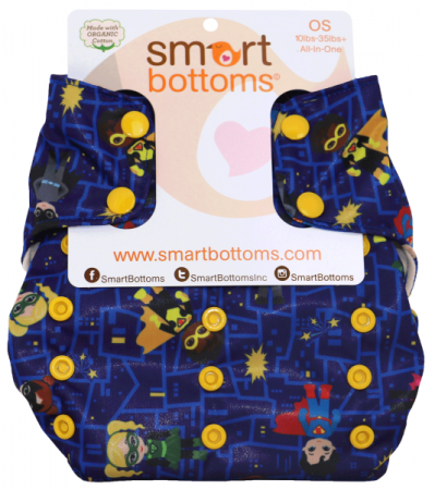 smart bottoms 3.1 organic one size all in one cloth diaper - Incredible