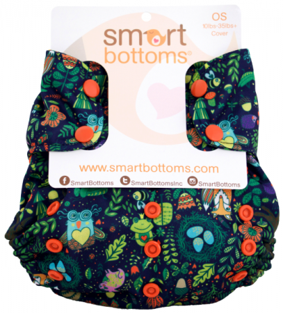 smart bottoms one size too smart diaper cover - Enchanted