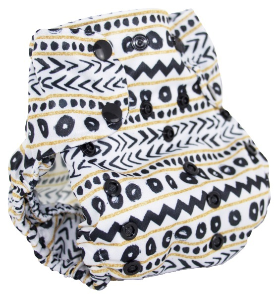 smart bottoms one size all in one dream cloth diaper - sketch