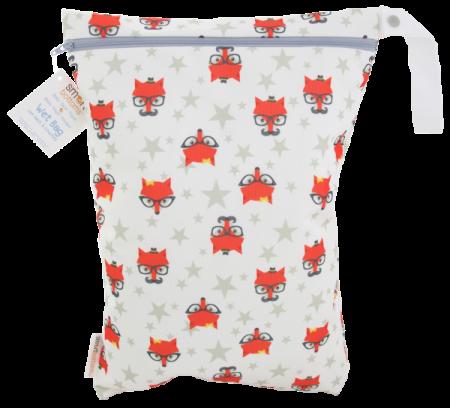 smart bottoms wet bag -  Fantastic Hipster Fox