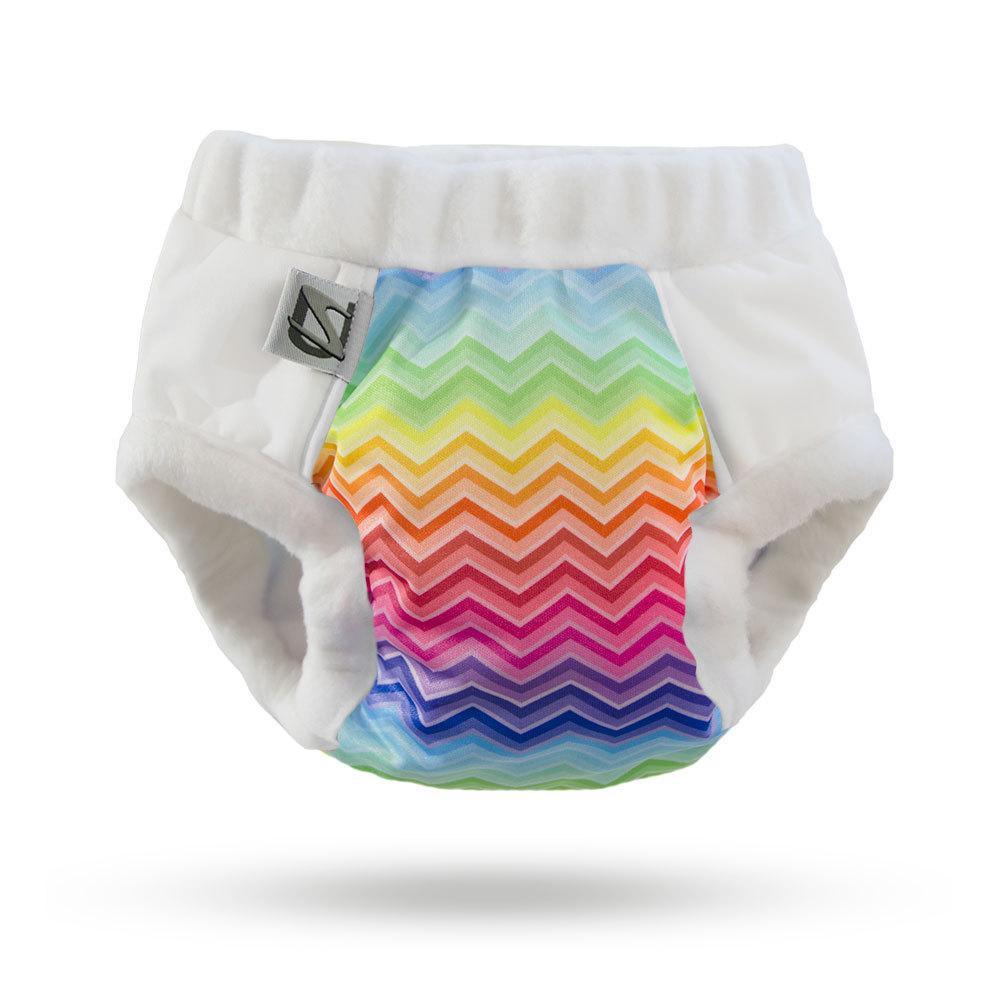 super undies cotton nighttime trainer -  Rainbow Bright