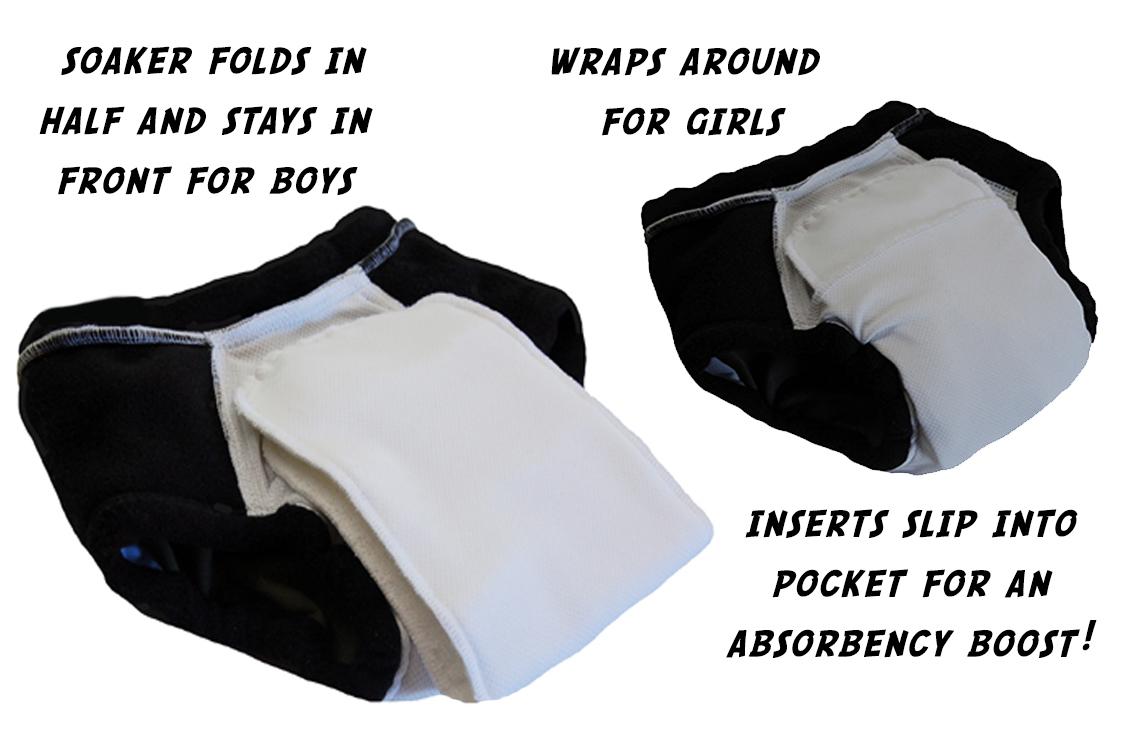 super undies cotton nighttime trainer - details 2