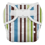Thirsties Duo Cloth Diapers - cool stripes