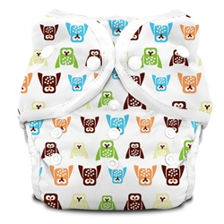 Thirsties Duo Cloth Diapers snap - hoot