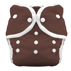 Thirsties Duo Cloth Diapers snap - mud