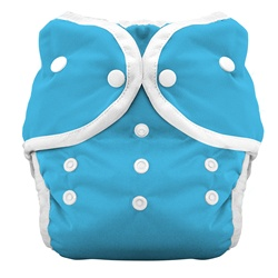 Thirsties Duo Cloth Diapers snap - ocean blue