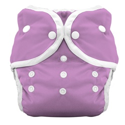 Thirsties Duo Cloth Diapers snap - orchid