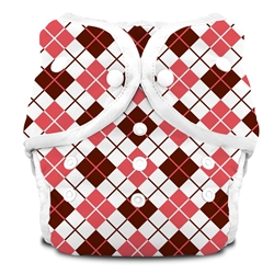 Thirsties Duo Cloth Diapers snap - scottish rose
