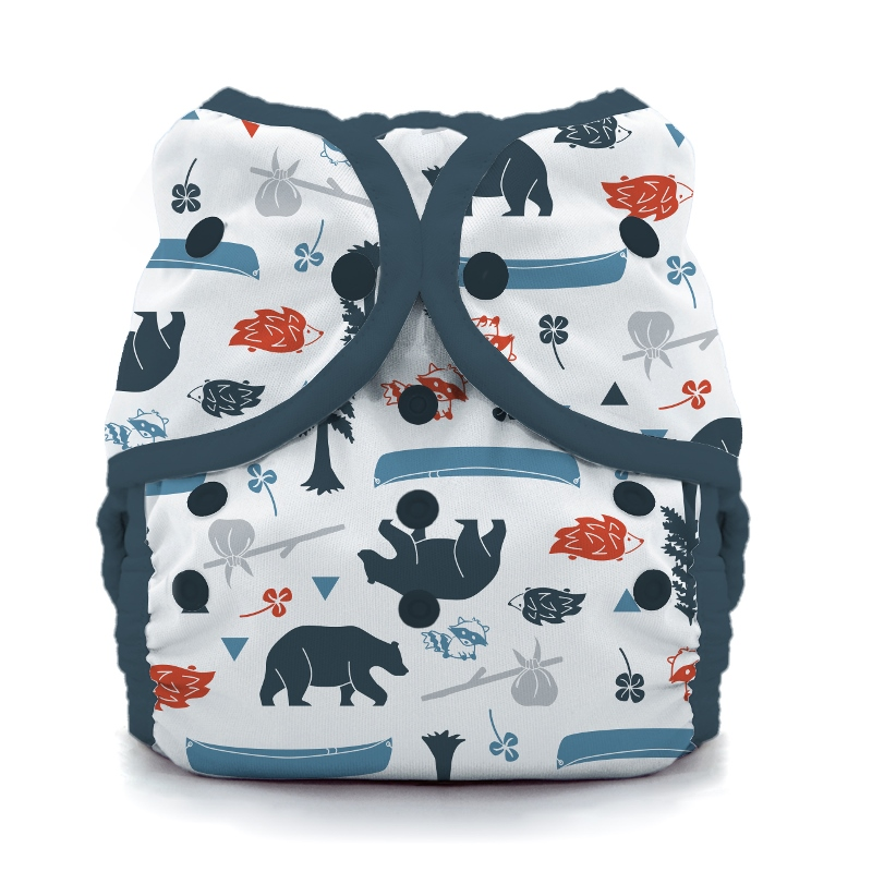 thiristies duo wrap diaper cover - Adventure Trail