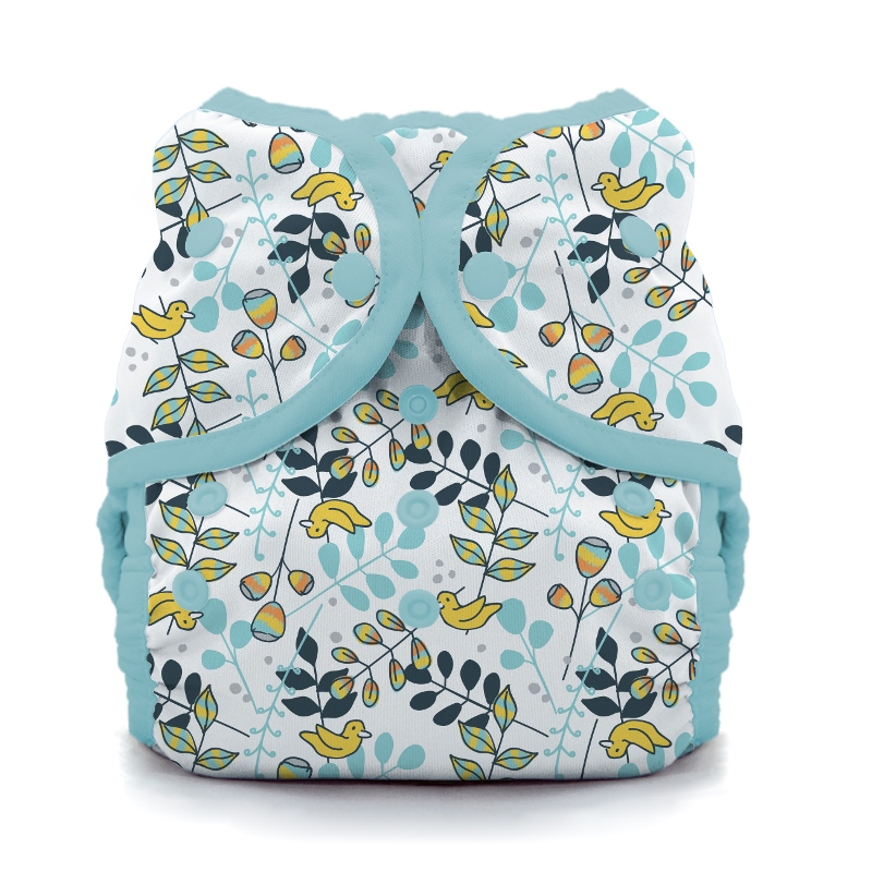 thiristies duo wrap diaper cover - Birdie