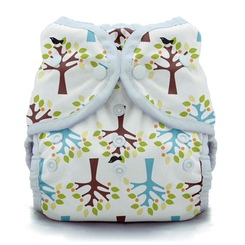 thiristies duo wrap diaper cover - Blackbird