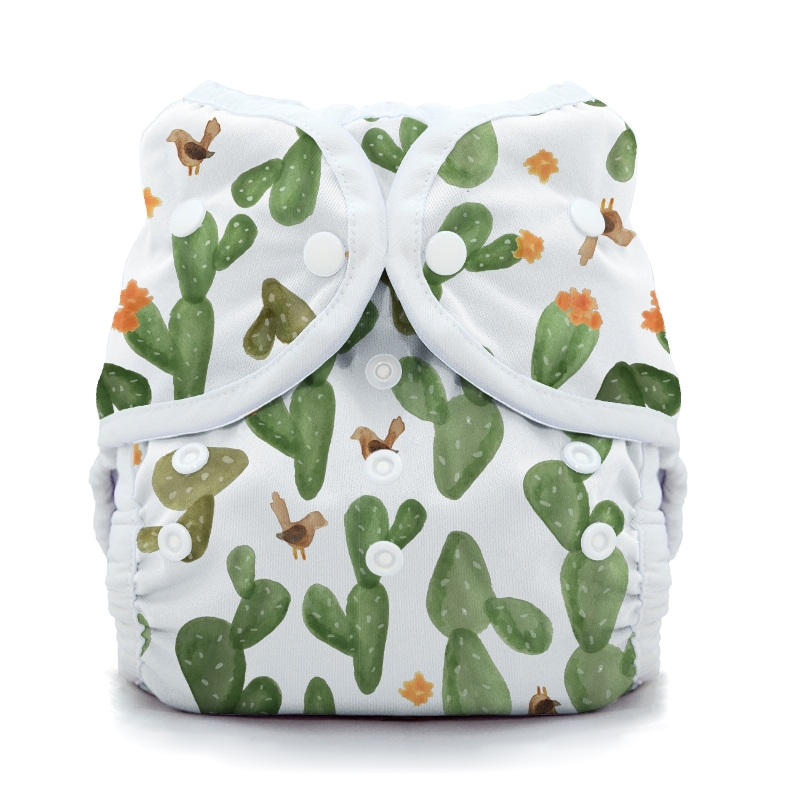 thiristies duo wrap diaper cover - Cactus Garden