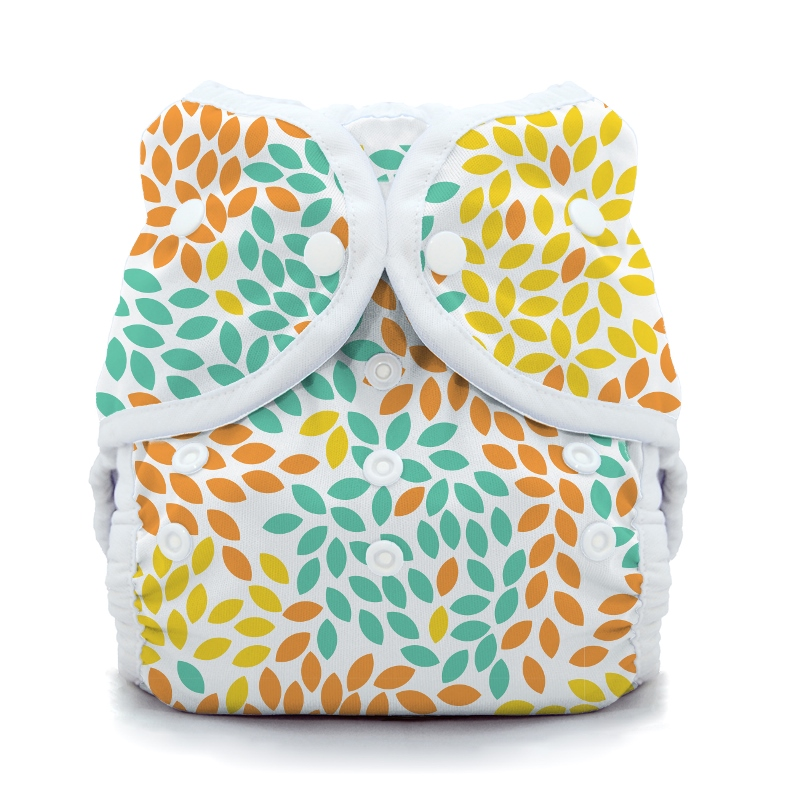 thiristies duo wrap diaper cover - Fallen Leaves