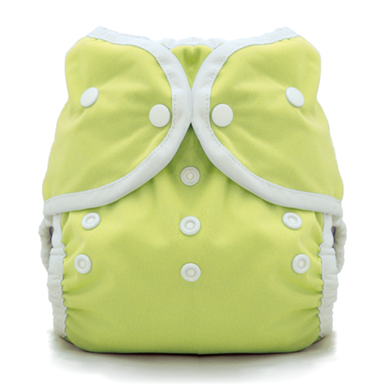 thiristies duo wrap diaper cover - Honeydew