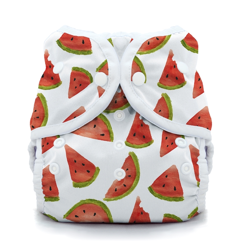 thiristies duo wrap diaper cover - Melon Party