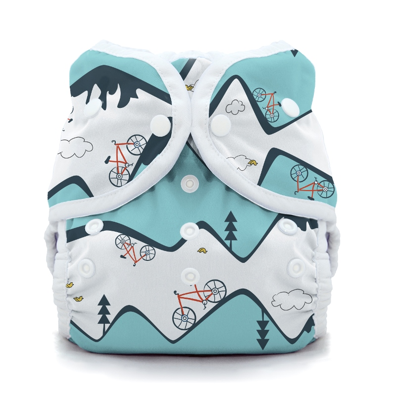 thiristies duo wrap diaper cover - Mountain Bike