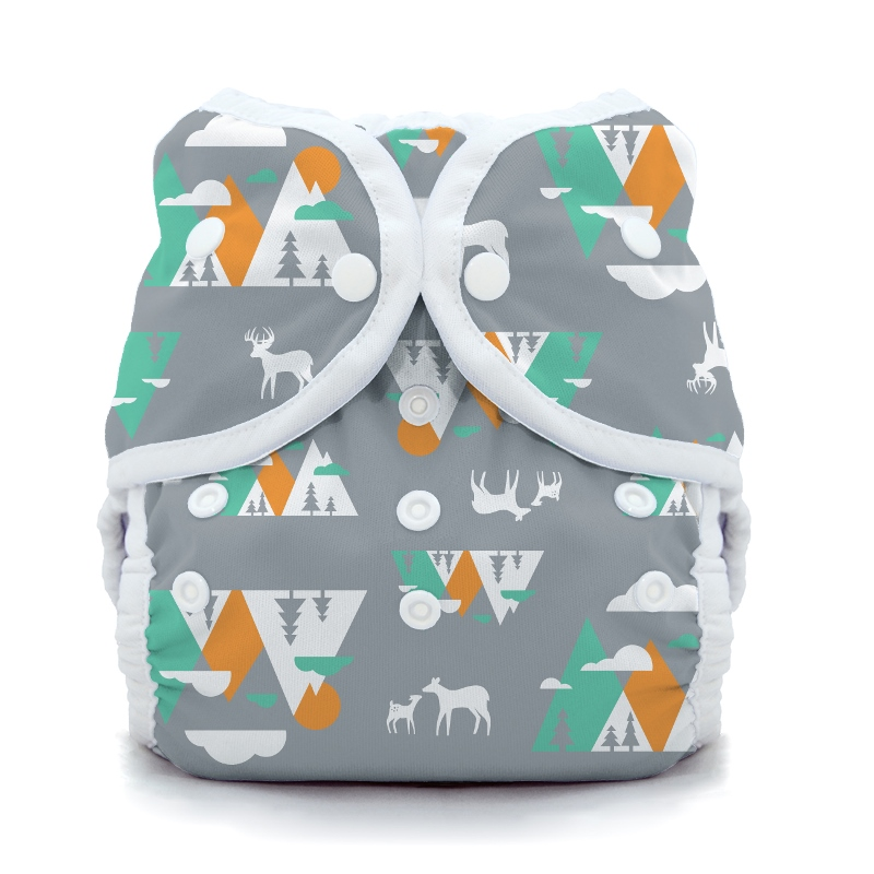thiristies duo wrap diaper cover - Mountain Range