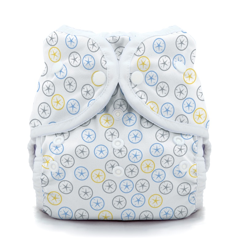 thiristies duo wrap diaper cover - Silver Dollar