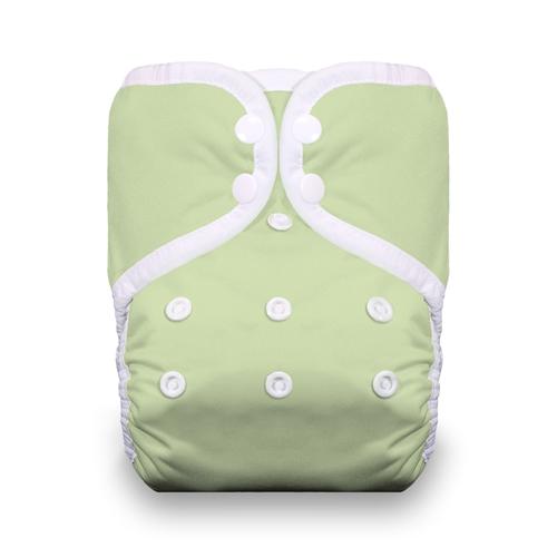 thiristies one size diaper - Celery