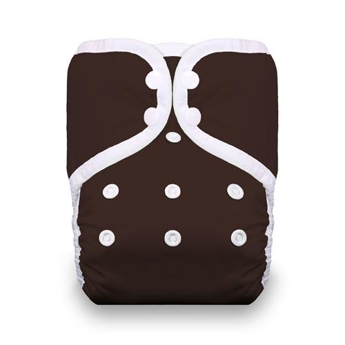 thiristies one size diaper - Mud