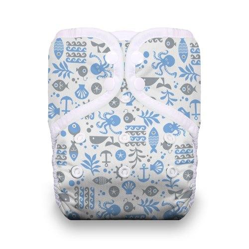 thiristies one size diaper - Ocean Life