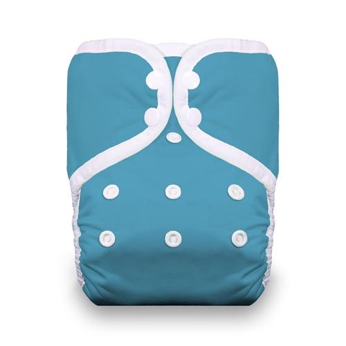 thiristies one size diaper - Ocean Blue