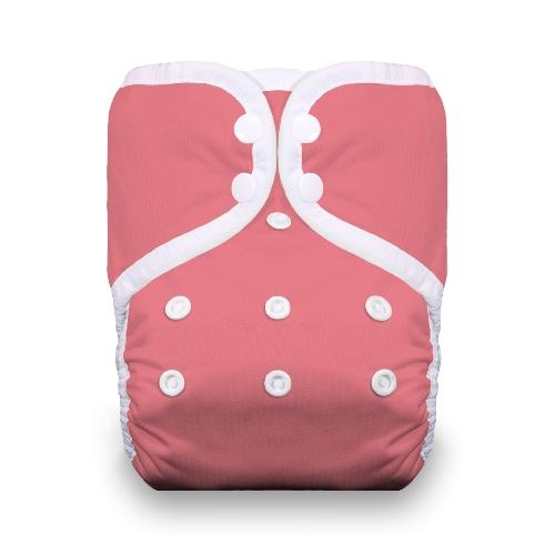 thiristies one size diaper - Poppy