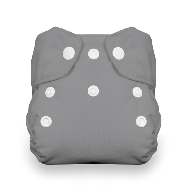 Thirsties One Size All in One Cloth Diaper - Snap - Fin