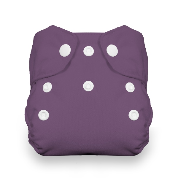 Thirsties One Size All in One Cloth Diaper - Snap - Iris