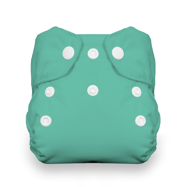 Thirsties One Size All in One Cloth Diaper - Snap - Moss