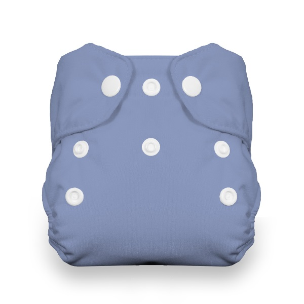 Thirsties One Size All in One Cloth Diaper - Snap - Storm Cloud