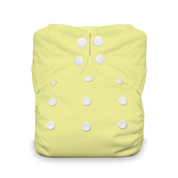 Thirsties One Size All in One Cloth Diaper - Snap - Honeydew