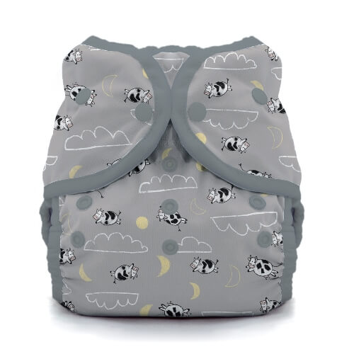 thiristies duo wrap diaper cover -  Over the Moon